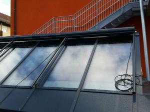 Senkrechtmarkise für Sonnen- und Blendschutz im Außenbereich - Erlangen
