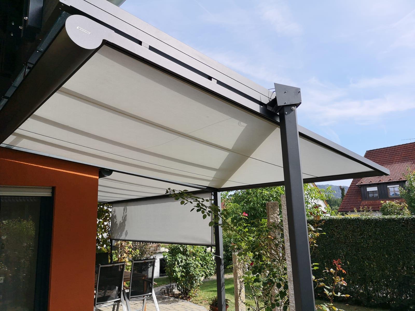 Read more about the article W9 Wintergarten Markise als Unterglas-Lösung
